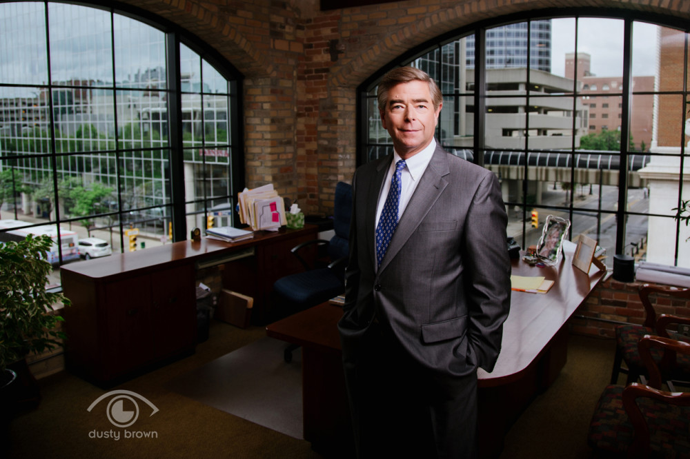 Business portraits in Grand Rapids