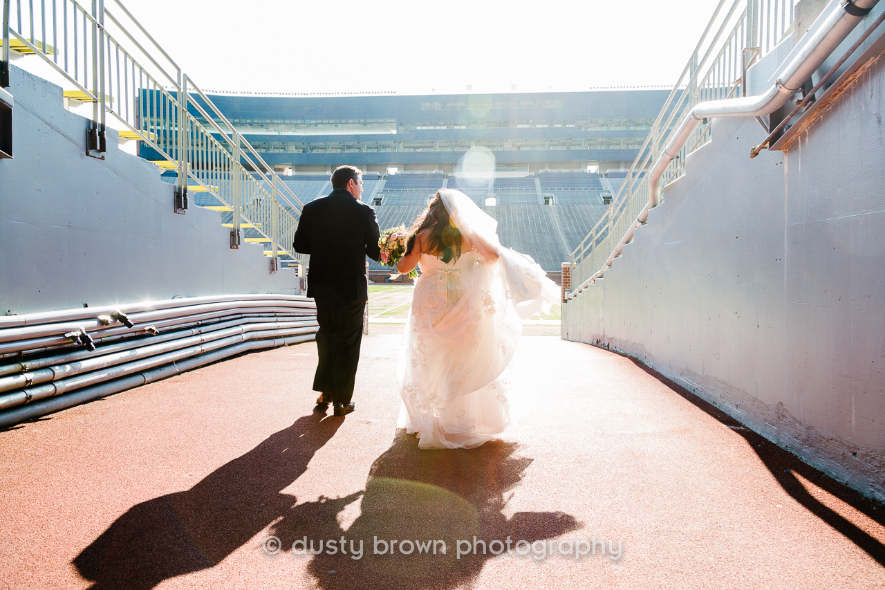 University of Michigan Wedding Reception